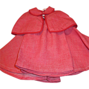 Vintage Red Ensemble for your Cissy, Miss Revlon, Dollikin, or other Fashion Doll