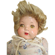 Vintage Composition Doll Looking For Mama