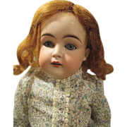 Darling Kestner 148 Bisque Head Doll - Pretty Face