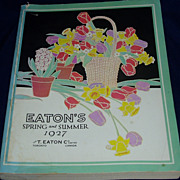 1927 Sping and summer t eaton catalog