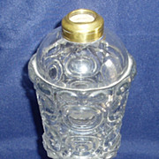 Clear Glass Whale Oil Lamp