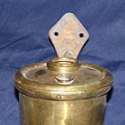 Miller railway wall mount oil lamp
