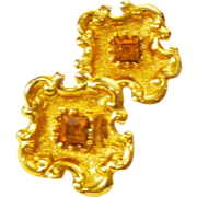 RARE! Outstanding Christian Lacroix Cuff Links
