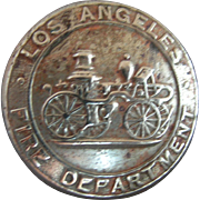 SOLD 4 Los Angeles Fire Department Buttons