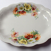 SALE Platter Roses Royal Firenze China