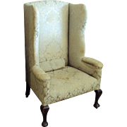 SALE 1700's Queen Ann Chair, Cabriole legs, Pad Foot
