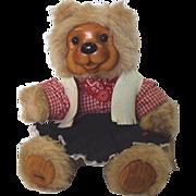 "SALE Robert Raikes Bear ""Bonnie"" 16 inch#17022"