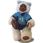 "SALE Robert Raikes hand signed Bear ""Terry"" #17010 White 11 inch"