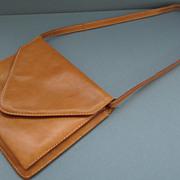 Beautiful Vintage Italian Leather Shoulder Bag