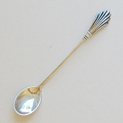 Gorham Sterling Silver Salt Spoon