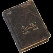 Vintage Dzintars Perfume Bottle and Box