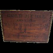 SALE Walter Baker & Co Dorchester MA Chocolate Box