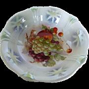 Vintage German Porcelain Fruit Bowl