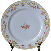 Elegant T&V Limoges set of 12  Dinner Plates c 1907-1919