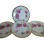 Berkeley Rose Luncheon Plates set of 4