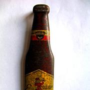 Vintage 1940's Esslinger Beer Figural Bottle Opener Advertising Muth