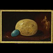 Pheasant Egg w/ Little Blue Egg