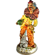 Large Capodimonte Clown