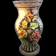 Massive Capodimonte Vase