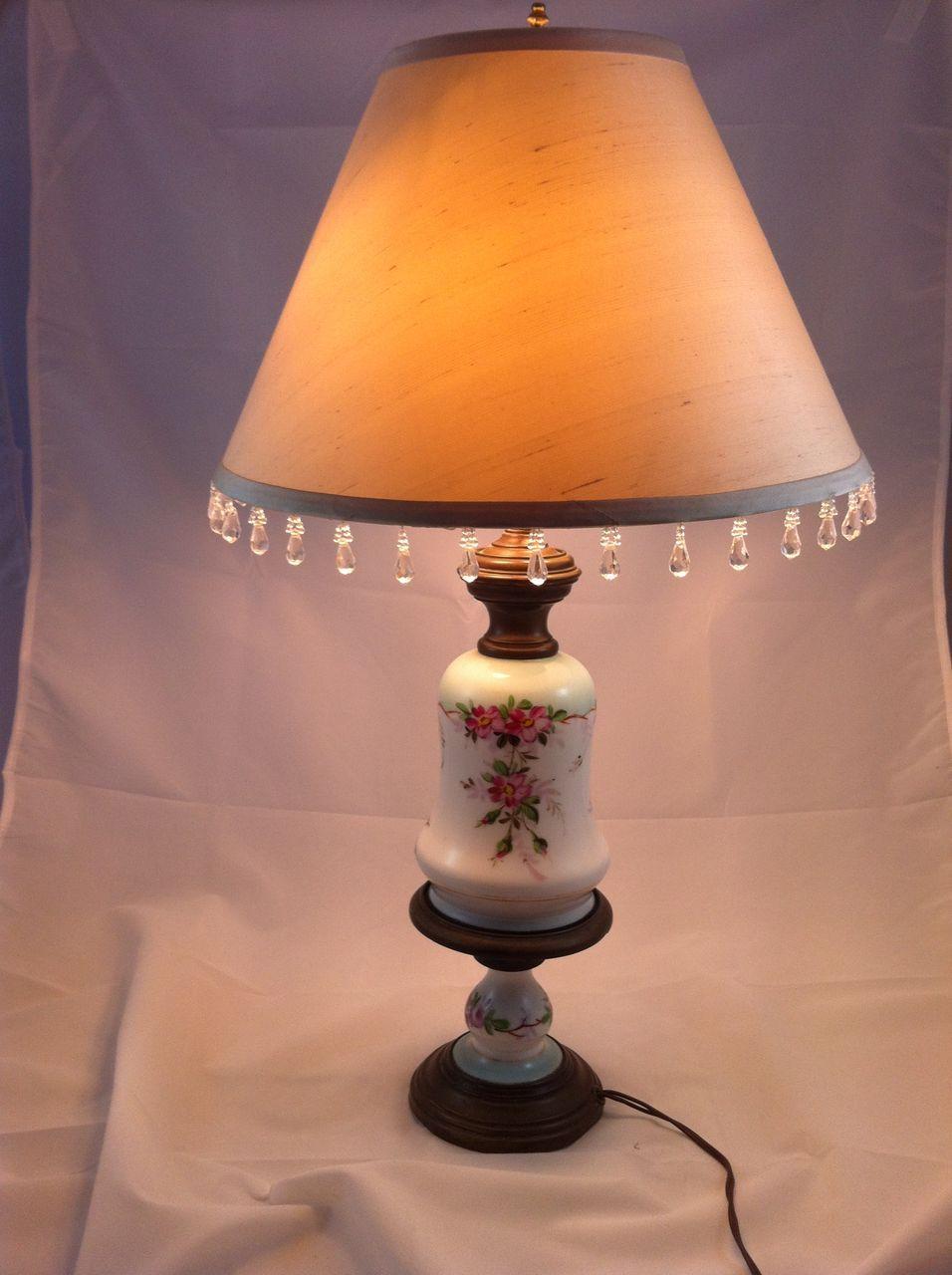 Vintage Porcelain Lamp 15