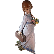 "SALE Lladro, ""School Days"" figurine"