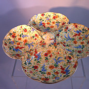 SOLD Chintz bonbon dish