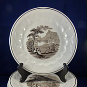 """6 Royal Staffordshire Ironstone Plates """"Colonial Valley"""""""