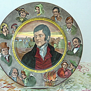 "Royal Doulton Robert Burns  10"" Plate"