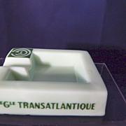 Cie Gle Transatlantique French Line Ashtray