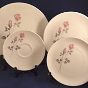 Royal Doulton China Dishes Pillar Rose Pattern TC1011