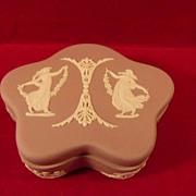 Wedgwood Lilac Jasperware Trinket Box