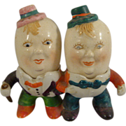 Occupied Japan Humpty Dumpty Salt and Pepper Shakers