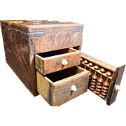 Early Asian Salesman Travel Box