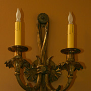 REDUCED European style wall sconce
