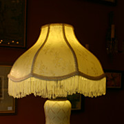 SALE Pair of Vintage Porcelain Lamps