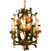 Beautiful Tole Chandelier