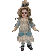 Precious 12 1/2 Inch Etienne Denamur Closed Mouth Doll