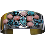REDUCED Desert Rose Trading Native American Style Turquoise Cuff
