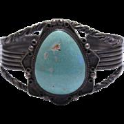 Native American Sleeping Beauty Turquoise Bracelet