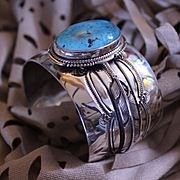REDUCED Native American Navajo Turquoise Bracelet