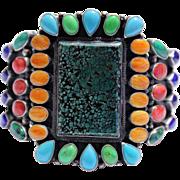 REDUCED Native American Navajo Kirk Smith Sterling Bracelet