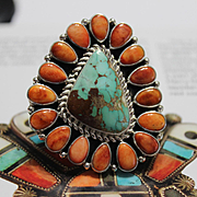 REDUCED Native American Turquoise Ring