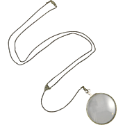Vintage Magnifying Glass Necklace