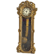 SALE PENDING Antique German Gerlach Wall Clock
