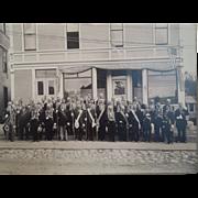 Antique Victorian Masonic Photograph