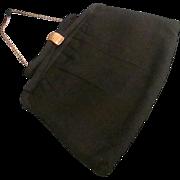 "SALE Classy Vintage ""After Five"" Evening Clutch- Purse- Bag ~ Hidden Chain c1960s"