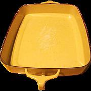 Vintage Kobenstyle-Yellow (Sungold) Enamelware Open Baking Pan By Dansk - 1956