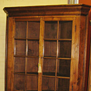 North Carolina Walnut Corner Cupboard