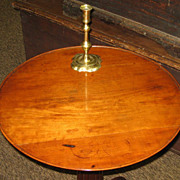 Rare Southern Walnut Candle Stand