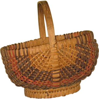 NC Cherokee Indian Basket in Excellent Condition